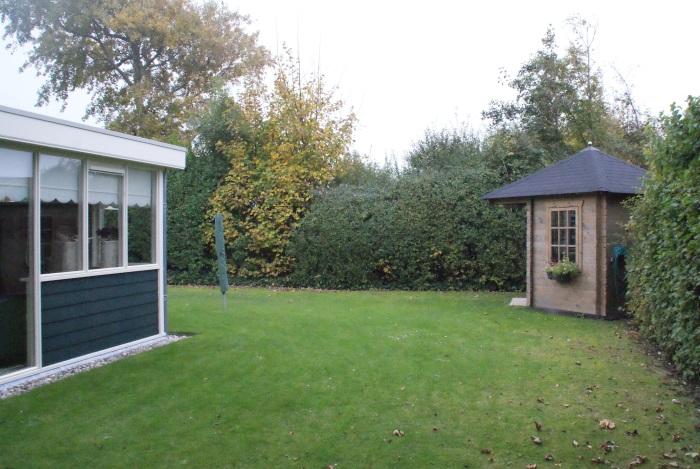 De privé tuin